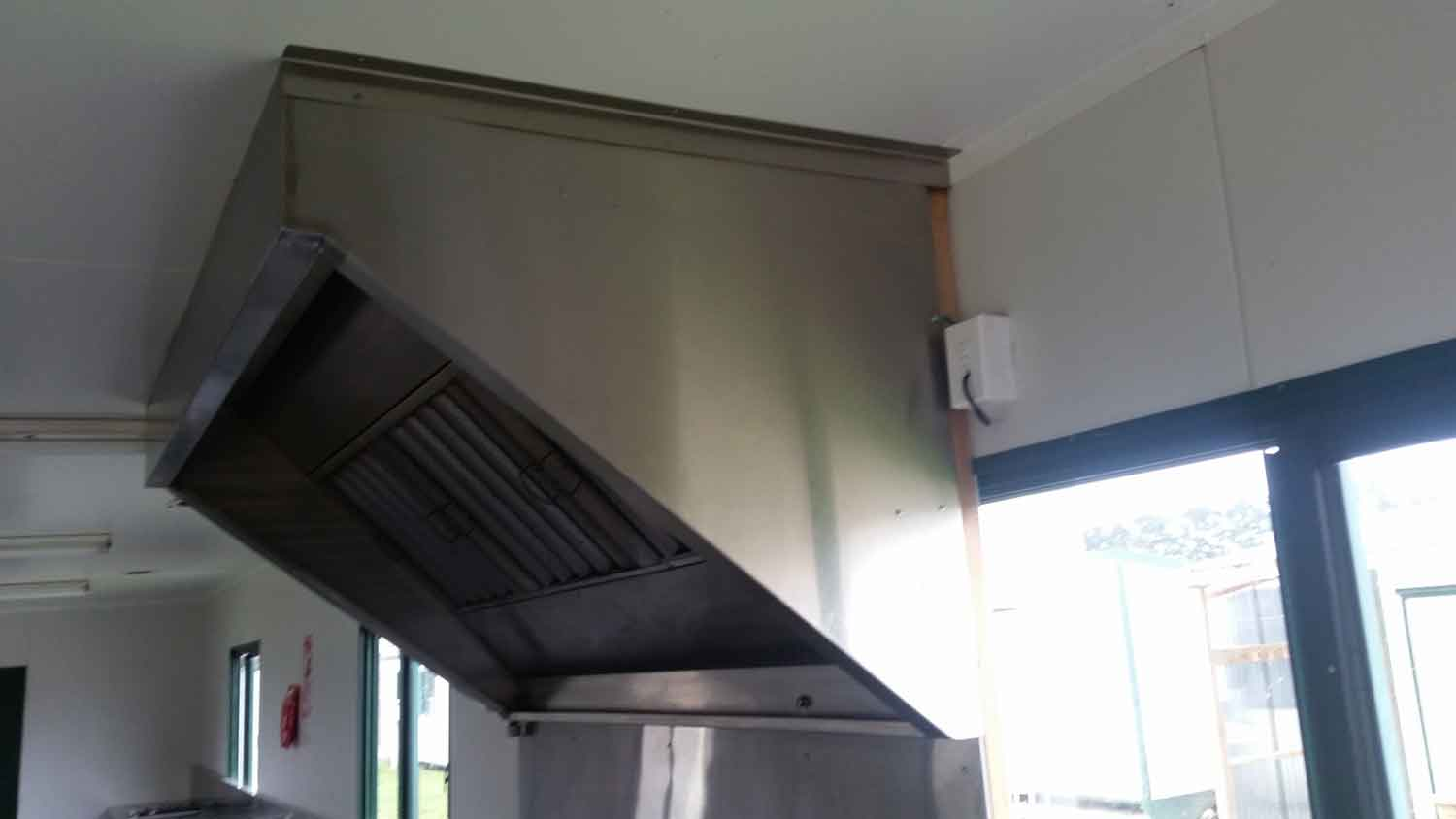 Stainless Steel Commercial Rangehood