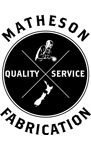 Matheson Fabrication | Quality Metal Fabrications, Hawkes Bay Logo