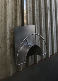 Stainless steel hose holder